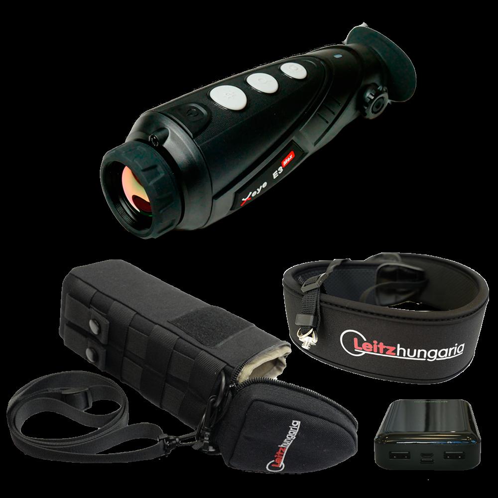 InfiRay X-Eye E3 Max V2.0 hőkamera okos szett (tok, nyakpánt, csavar, powerbank 10 Ah)